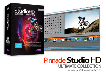 Pinnacle Studio HD Ultimate Collection v15.0 Crack