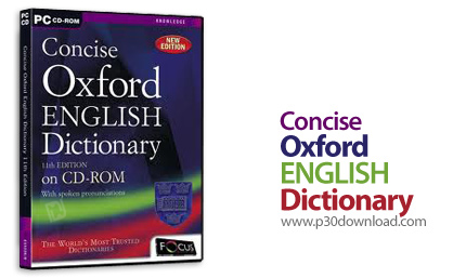 Concise Oxford English Dictionary 10 Edition v1.1