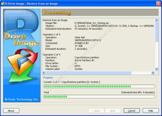R-Drive Image v6.1 Build 6108 + BootCD v6.1 Build 6109