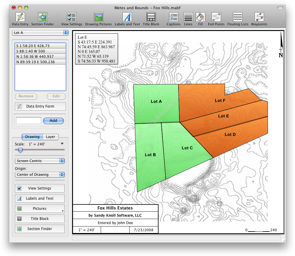 Metes and Bounds Pro 5.0.1 Crack