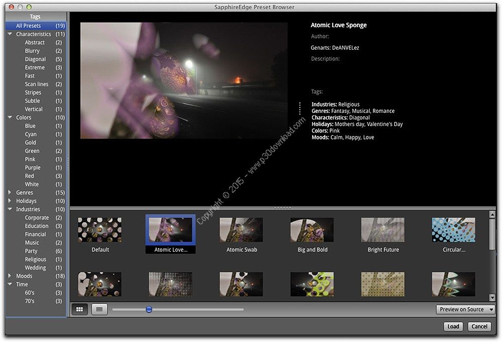 Genarts Sapphire v9.0.3 for After Effects