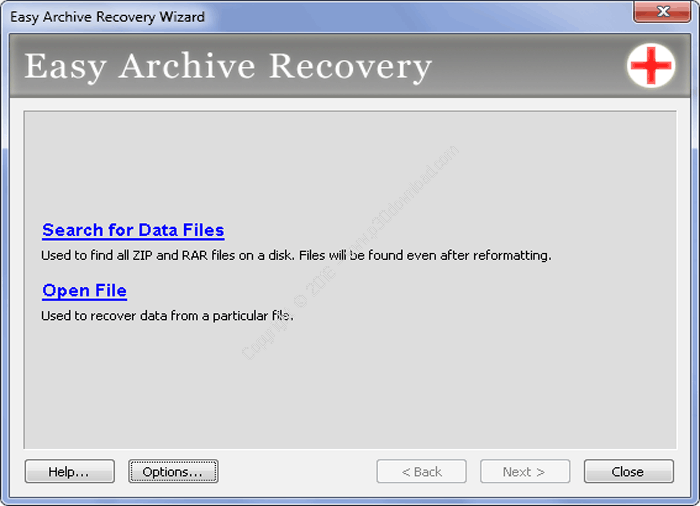 Easy Archive Recovery v2.0 Crack