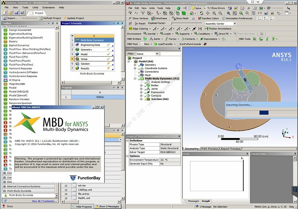FunctionBay Multi-Body Dynamics For ANSYS 18.2 x64 Crack