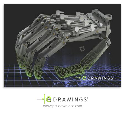 eDrawings Pro 2017 Suite v10.4/10.9 x86/x64 Crack