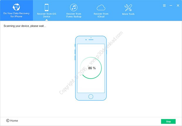 Do Your Data Recovery for iPhone v4.0 Build 2016.08.08 Crack