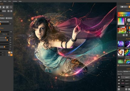 Flame Painter Pro v3.2 x86/x64 + Flame Painter Connect v1.2 Photoshop Plugin