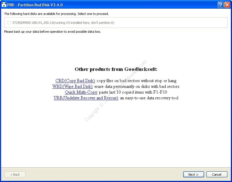 Partition Bad Disk v3.4.1 Crack