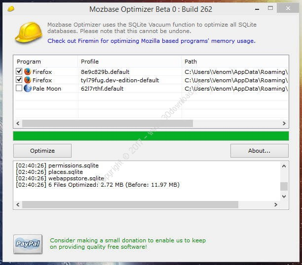 Mozbase Optimizer v0.2.6.262 x86 Portable Crack