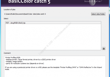 basICColor catch v5.0.7 Build 1845