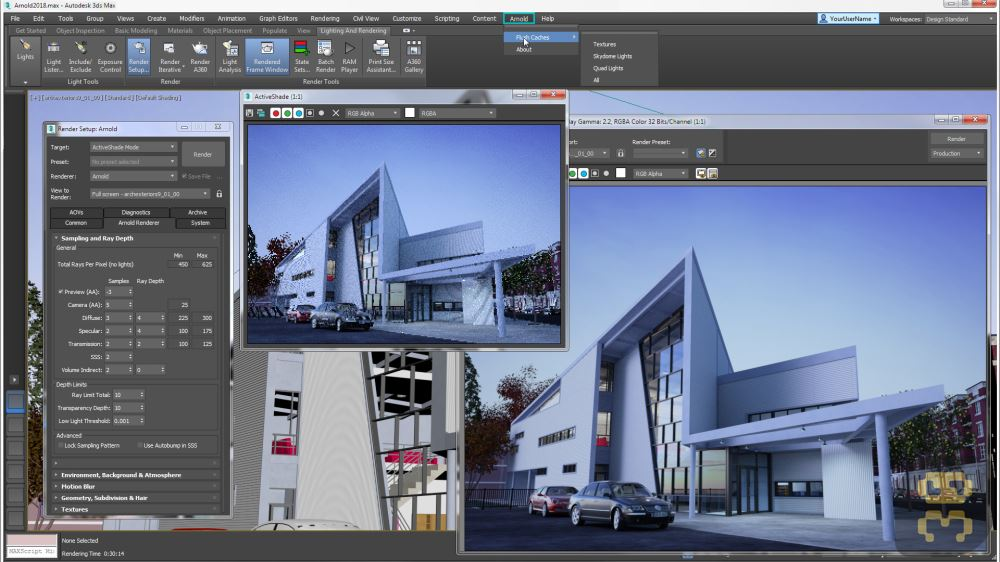 Autodesk 3ds Max 2018 Update 1 - The Latest Version Of TerryDeaks Crack