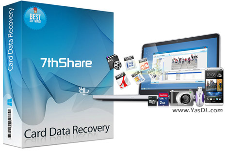 7thShare Card Data Recovery 2.6.6.8 + Portable - Recovers SD Card Memory Cards Crack