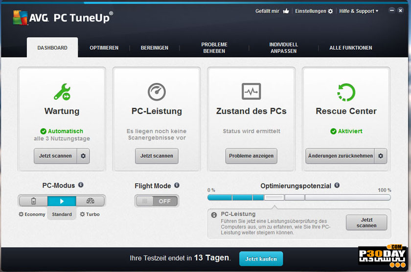 AVG PC TuneUp 2016 V16.52.2 - Speed up Computer Crack