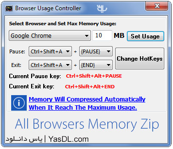 All Browsers Memory Zip 1.5.7.4 + Portable Crack