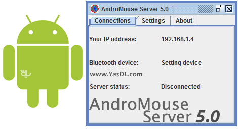 AndroMouse Desktop Server 6.2 Crack