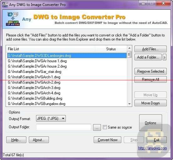 Convert DWG To Photo With Any DWG To Image Converter Pro 2018 Crack