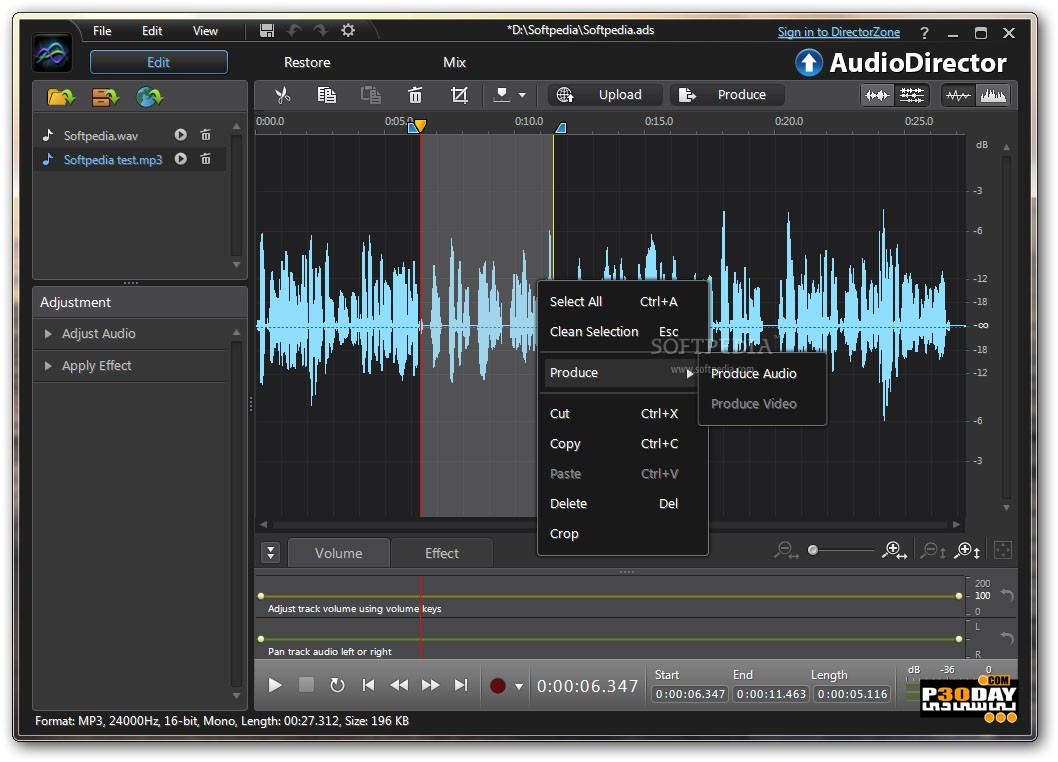CyberLink AudioDirector Ultra 8.0.2031.0 - Manage And Make Sounds Crack