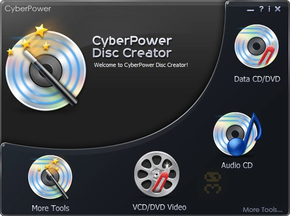 CyberPower Disc Creator 10.8.0 - Making DVDs