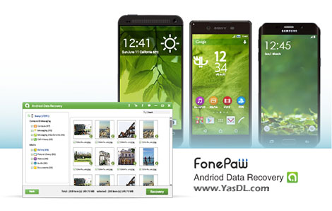 FonePaw Android Data Recovery 2.6.0 + Portable Crack