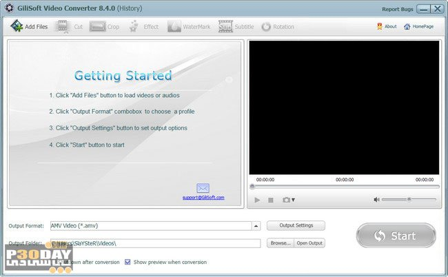GiliSoft Video Converter 10.0.0 - Quick And Accurate Video Converter Crack