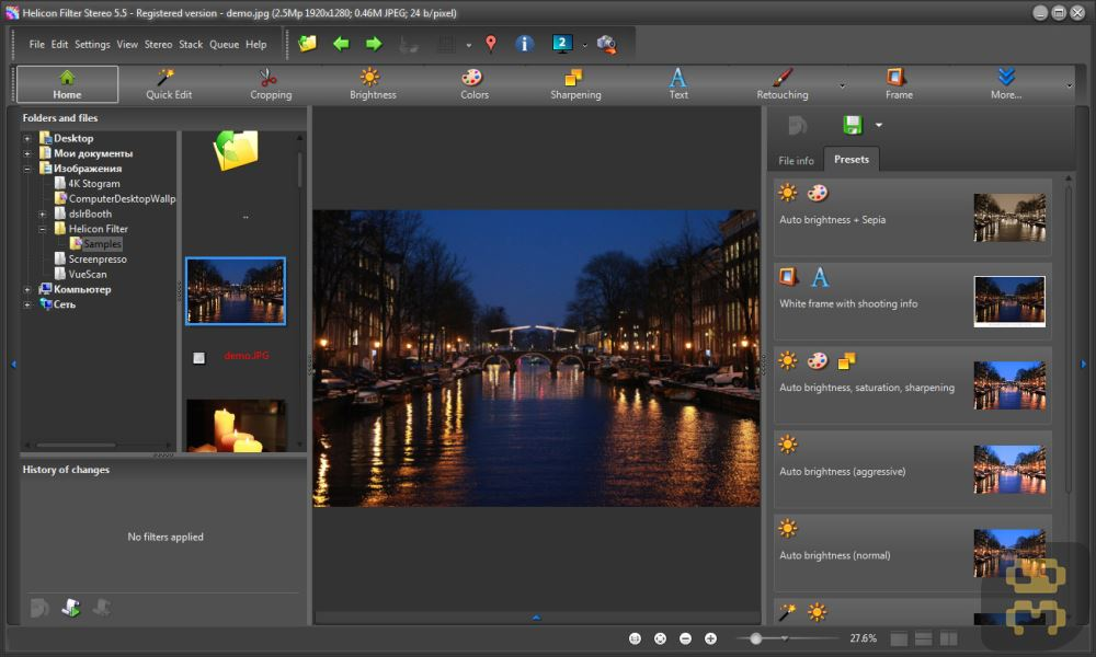 HeliconSoft Helicon Filter 5.6.3.3 - Editing And Beautifying Digital Images Crack