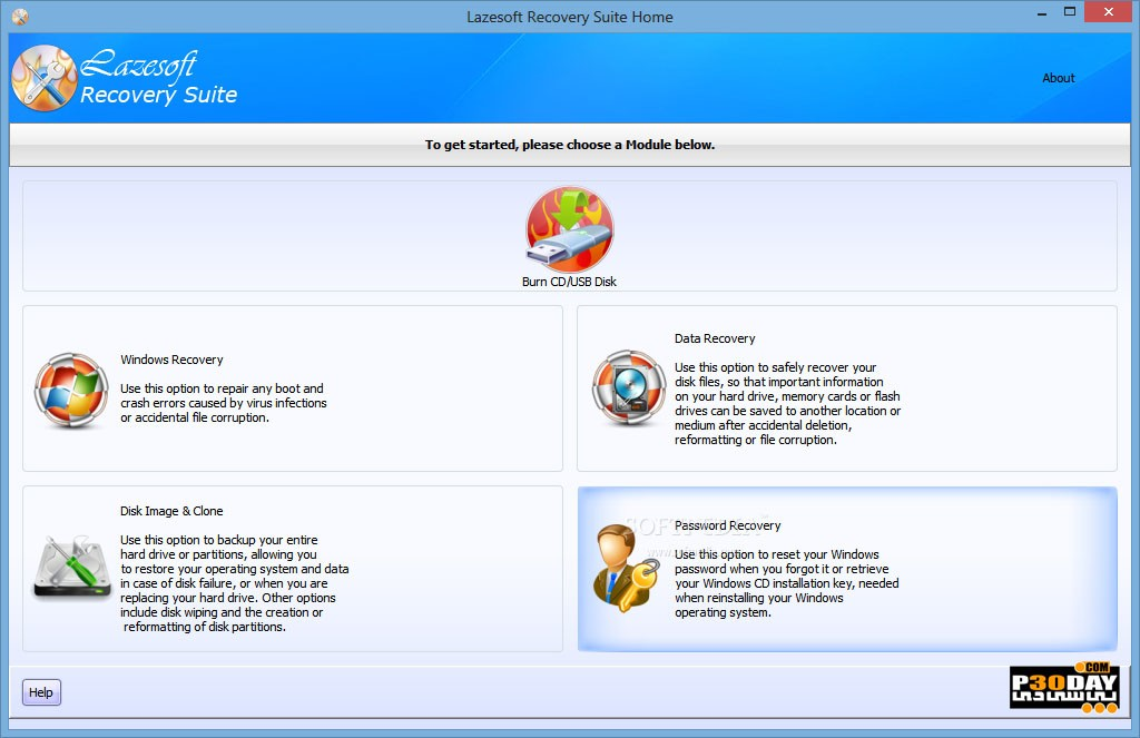 Lazesoft Recovery Suite 4.1.0.1 Professional Edition - Removed Deleted Data Crack