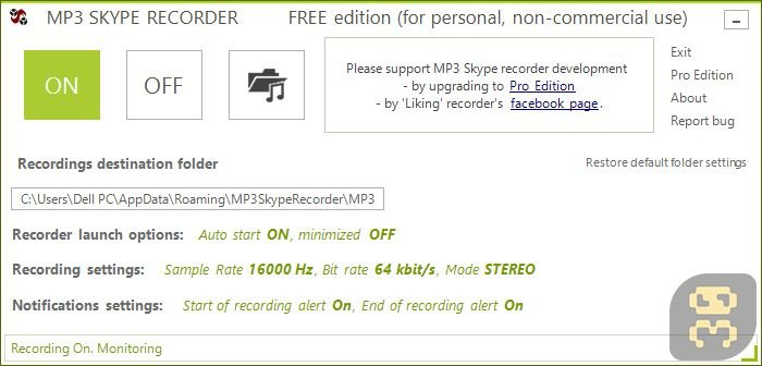 MP3 Skype Recorder 4.39 - Skype Speech Recorder Crack