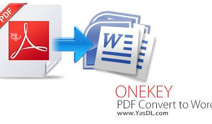 ONEKEY PDF Convert to Word 3.0 + Portable