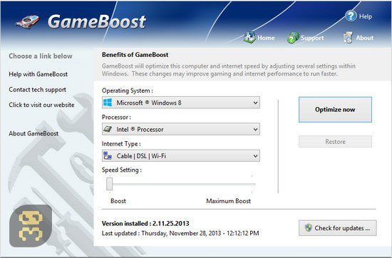 PGWare GameBoost 3.7.17.2017 - Computer Optimization For The Game Crack