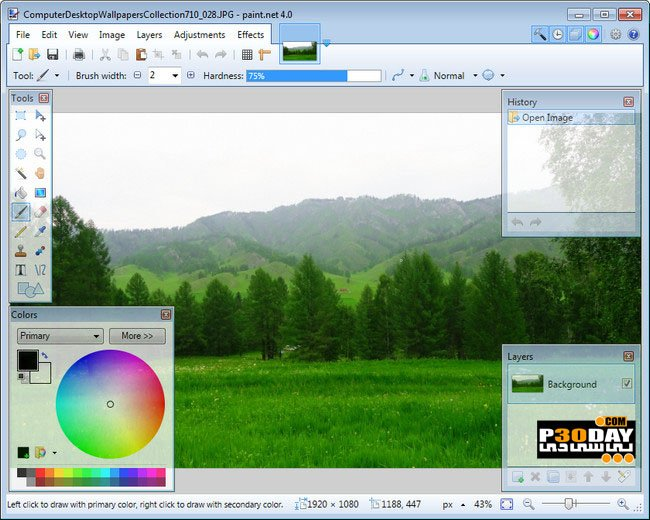 Paint.NET 4.0.6 Final - Image Editing With Free Paint Software Crack