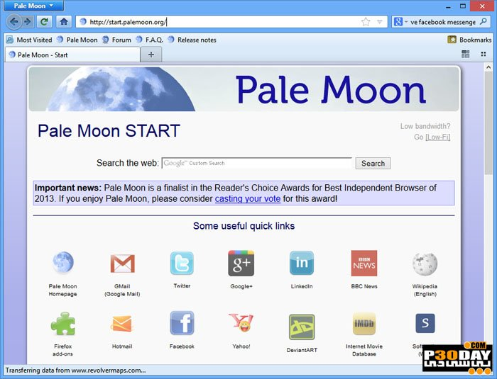 Pale Moon 27.9.1 Final - High Speed ​​Internet Browser Crack