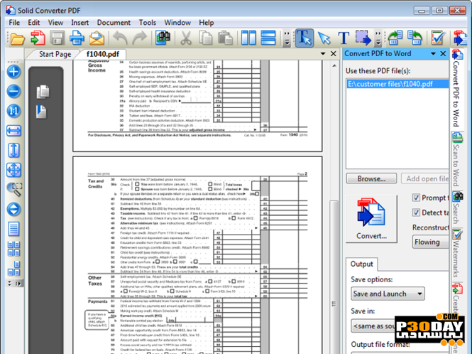Solid Converter PDF 9.2.7478.2128 - Software Converts PDF Documents To Word Crack