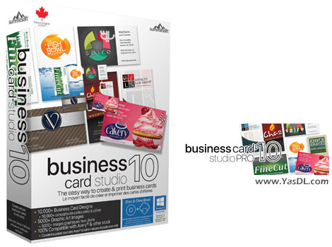 Summitsoft Business Card Studio Deluxe 10 5.0.2 Crack