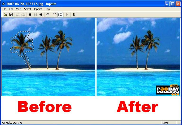 Teorex Inpaint 6.2 - Remove Objects In The Photo Crack