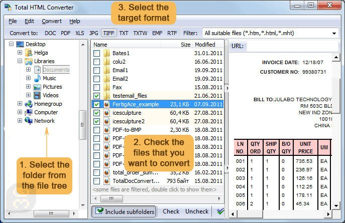 Total HTML Converter 5.1.0.126 - Convert HTML To Other Documents Crack
