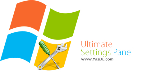 Ultimate Settings Panel 6.1.0 + Portable – Quick Access To Windows Settings Crack