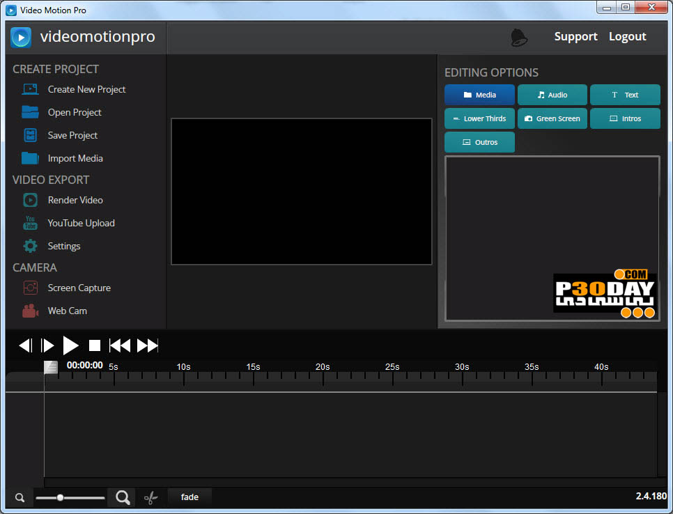 Video Motion Pro 2.4.180 - Video Editing Software