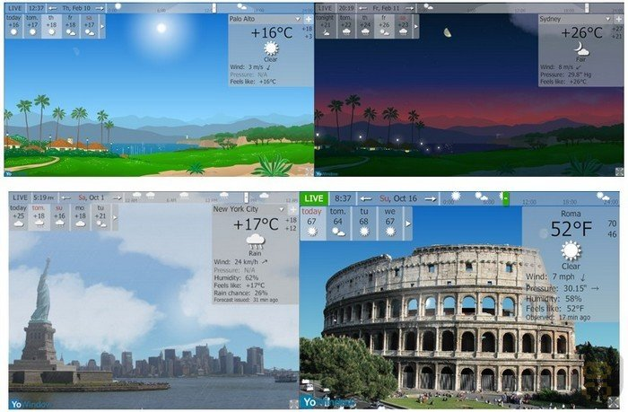 YoWindow 4 Build 92 RC Unlimited Edition - View Weather Conditions Crack
