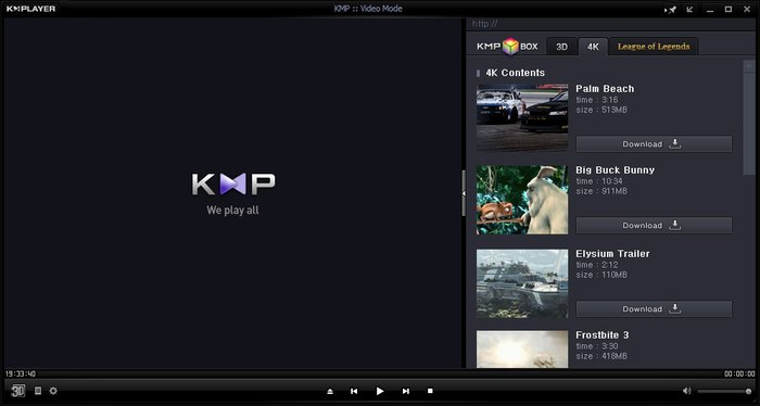 KMPlayer 4.2.2.7 - The Newest Popular Player Version Crack